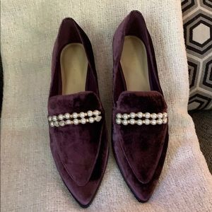 NEW IN BOX Marc Fisher Dark Purple Loafers